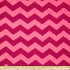 Chevron Fleece Tonal Pink from @fabricdotcom  This double-sided, anti-pill fleece fabric is warm and cozy and has ultra-soft hand. It is perfect for throws, blankets, jackets, hats, mittens, scarves, slippers, pillows, vests, pullovers and much more.