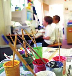 Art in Schools Inspires Tomorrow's Creative Thinkers