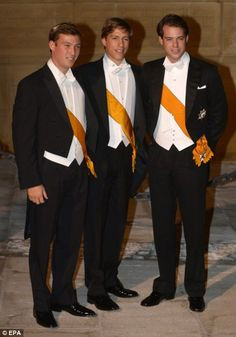 Prince Sebastien, Prince Louis and Prince Felix of Luxembourg @Nadine Kaskas