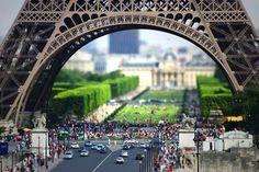 Eiffel Tower - Tilt Shift