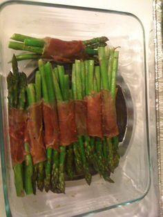 side dishes, olive oils, asparagus bundl, food, thanksgiv recip, green beans, thanksgiving recipes, prosciutto asparagus, dinner tonight