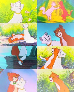 Thomas O'Malley and Duchess  <3