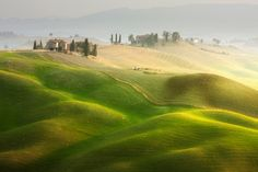 The farm by Marcin Sobas, via 500px