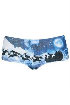 boy short, idea, christma eve, cloth, topshop sleigh
