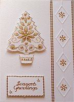 Christmas Card: from the card gallery at craftee.co.uk CRAFTEE Card Making Supplies and Craft Supplies #card #cardmaking #Christmas