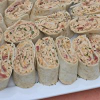 Mexican Chicken Salad Wraps - Pinwheels by Divas Can Cook