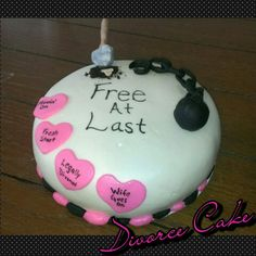 Divorce cake made by me