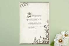Story Book Wedding Invitations