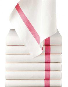 thick cotton napkins/kitchen towels