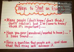 ways to start the conclusion of an essay