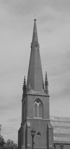 One of the many Church Steeples in Elmira, NY
