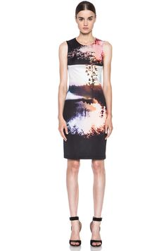 MARY KATRANTZOU Jersey Dress in Woodstock Sunset
