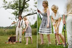 dressed up croquet