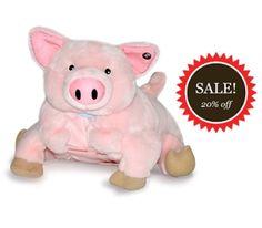 pets, stuf anim, pig plush, pigs, plush blanket, blankets, blanket pet, mini pig, puddl