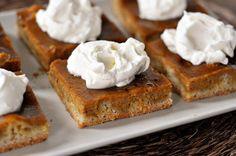 Pumpkin Pie Sheet Cake....