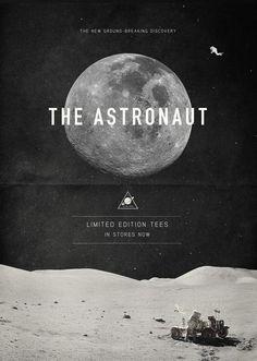 The Astronaut // Poster Design