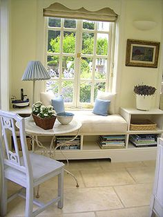 Window seat ideas on Pinterest