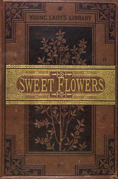 ladi librari, sweet flower, rare book, antique books, antiqu book