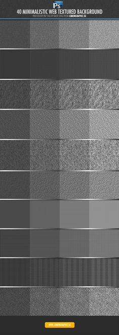 40 Exclusive Photoshop Patterns