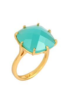 Great cocktail ring for summer. Very 1950's Hollywood.