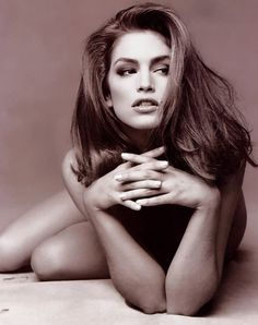 Bittersweet Vogue: Young Cindy Crawford