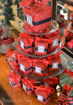 Christmas Advent Calendar Idea from House on the Way blog!