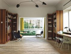 "Blogged on ""A Flemish House With A Mid Century Flavor"""