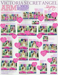 Blogilates-VS Arm Slimming Workout. I did this YouTube video, she's f-ing crazay!