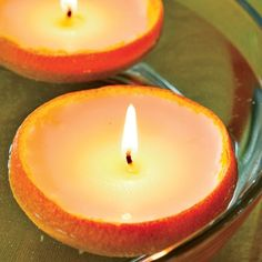 Floating Oranges Candle Craft