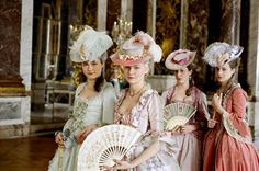 Adorable dresses from movie Mary Antoinette (2006) *