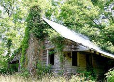 Oldest Cabin in Georgia - Historical Hunter-England cabin.