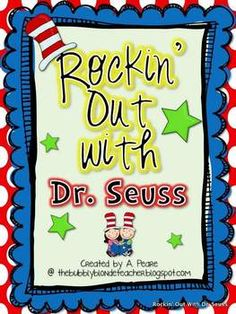 Your students will love rockin' out with Dr. Seuss during the month of March!Included in this unit is 5 literacy centers, 5 math centers, 2 cra...