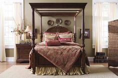 Traditional English Style Bedroom