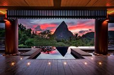 The Hotel Chocolat, St Lucia