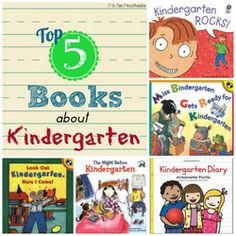 Top 5 Books for Soon-To-Be-Kindergarteners
