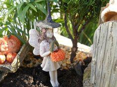 Fairy Kristy loves to Trick or Treat!  www.wholesalefairygardens.com