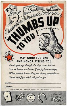 Thumbs Up To You!