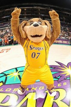 Sparky the Dog, Los Angeles Sparks mascot.