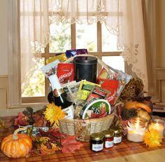 Thanksgiving Favorites Gift Basket.