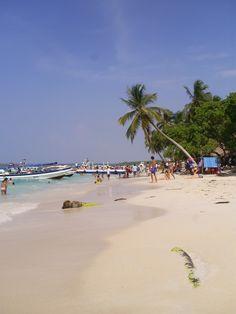 Cartagena-Colombia playas un gran placer para disfrutar