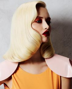 Graphic hairstyles