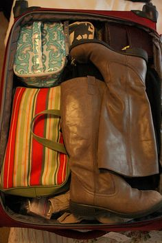 What to pack and how to pack it.