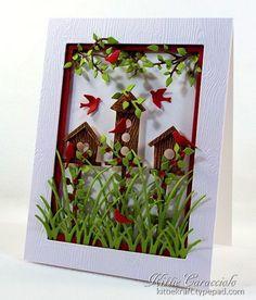 obsess birdhous, invert frame, birdhous set, card, song challeng