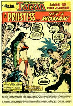 Diversions of the Groovy Kind: Making a Splash: John Buscema, Lord of the Jungle! (Part One)