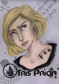 Tris Prior fan art #dauntless