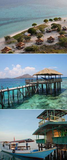Kanawa Island Beach Bungalows / Indonesia