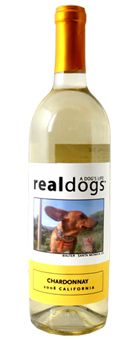 No Real Meat isn't Making or Selling Wine LOL Real Dogs Wine! Personalize a bottle with a picture of your pup and a portion of the proceeds goes to animal rescue organizations! Awesome!
