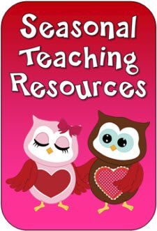 Seasonal Teaching Resources on LauraCandler.com - Newly updated with February items and you can still find the January freebies and Mini Pack on this page as well