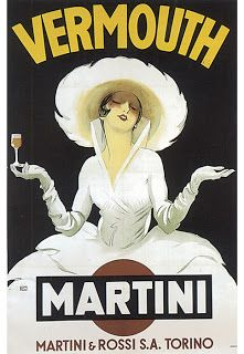 VintageFeedsacks: Free Vintage Clip Art - Classic Martini and Rossi Vermouth Lady Poster