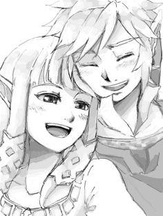 Link ♥ Zelda